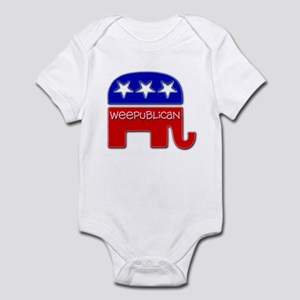 """Weepublican"" Infant Bodysuit"